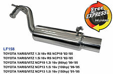 Performance Exhaust Rear Muffler for Toyota Yaris '99 - '05 with Tuning Device