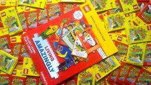 Sainsbury's LEGO Album 2020 + 64 Packs Unopened Cards
