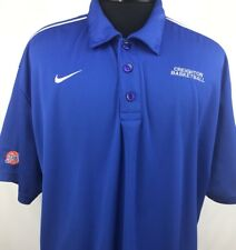Creighton Bluejays Basketball NCAA Nike Dri Fit Golf Polo Men's XL