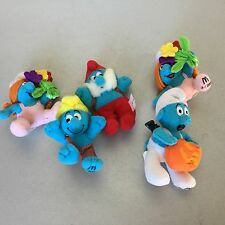 VINTAGE # 5x GADGETS McDonald's Happy Meal PUFFI Smurfs