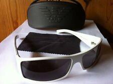 NEW Giorgio Armani GA 66/D/S Sunglasses, 9S4 White / Grey Lens Titanium Flash