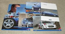 Ford Focus RS Mk1 Brochure Pack 2000 - WRC Colin Mcrae