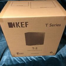 "BrandNew KEF T2 SUBWOOFER 10"" 250W Class D Amp - Low Profile Slim-line Design"