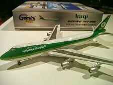 Gemini Jets GJIAW072 Iraqi Airways 1/400 scale Boeing 747-200 YI-AGN Iraq model