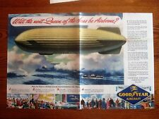 Good Year Blimps in Post War Service? ,original WWII Ad