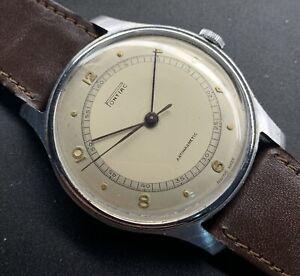 1950s Pontiac Central Second Step Case Wristwatch