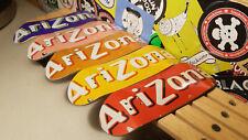 Arizona Metal Bottom Wooden Fingerboard Pro Decks HUGE Variety