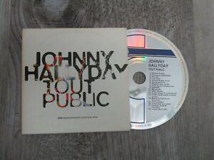 "cd album promo 5466 "" JOHNNY HALLYDAY "" 18 titres"