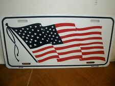 New listing New American Flag Metal License Plate