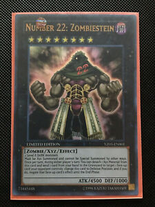 Number 22: Zombiestein YuGiOh Card