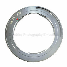 Quality Contax Yashica CY C/Y Lens to CANON EOS Mount Adapter (Fits EOS cameras)