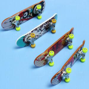 1PC Finger Skateboard Fingerboard Skate Board Kids Table Deck Mini Plastic Toys