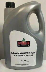 5 Ltr Lawnmower Oil, 4 Stroke, SAE 30 Engine Oil