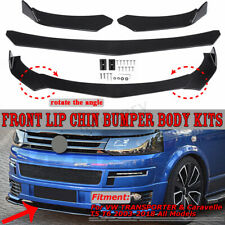 Universal Car Front Bumper Lip Body Kit Spoiler For Honda Civic Mazda GMC
