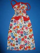 (219) vecchia vintage BARBIE best buy abito Floral Print Dress #9156 MATTEL 1976