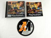 Jeu Playstation 1 PS1 VF Action Man Destruction X avec notice Envoi rapide suivi