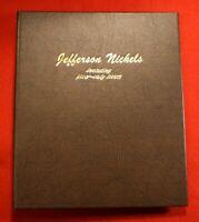 1964-D-2002-P DANSCO JEFFERSON NICKEL ALBUM W/ PROOFS 105 COINS COMPLETE JN3
