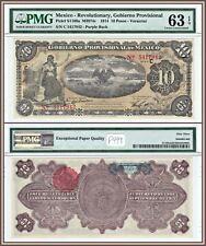 1914 $5 Mexico Banco De Tamaulipas Series H Remainder Uncirculated Pick# S429d