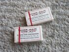 1960s PURE ORE ADVERTISING SAFETY RAZOR BLADES MINT IN BOX ADVERTISING SHAVING