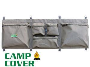 Camp Cover Seat Storage Bag - Double 114 x 5 x 39 cm - Khaki Ripstop - CCM010-A