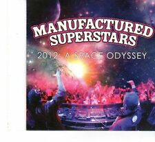 (FT74) Manufactured Superstars: 2012- A Space Odyssey - DJ Magazine CD