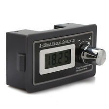 Signal Generator, Small LCD 4-20mA DC 15-30V Generator Current Transmitter