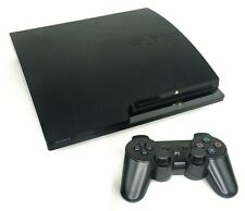 Sony PlayStation 3 Ps3 Slim Console with Wireless Controller & Cables