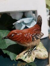 Vintage Retired Beswick Bird Figurine 'Wren' - # 993