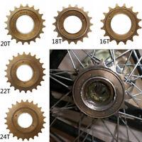 16T/18T/20T/22T/24T Bicycle Bike Single Speed Freewheel Flywheel Sprockets Parts