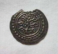 GERMANY. BAVARIA, LINDAU. SILVER BRACTEATE. FREDERICK II, 1212-1250 AD. RARE.