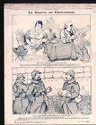 WWI Caricature Guerre Poilus /Balkans Bulgaria Albania Serbia 1915 ILLUSTRATION