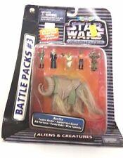 STAR WARS Action Fleet Battle Packs #3 ALIENS AND CREATURES ~ BANTHA ~ MISB MOC