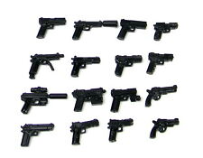 MEGA Pistol Pack Army Weapons Pack (P3) compatible with toy brick minifigures