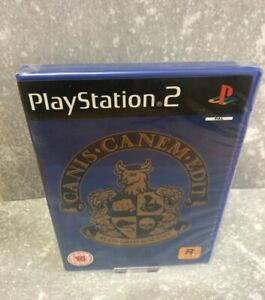 CANIS CANEM EDIT BULLY PS2 ♡ Brand New Case ♡ Sealed