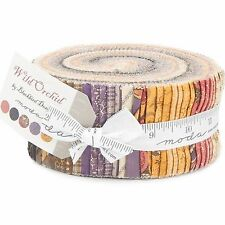 Wild Orchid Jelly Roll by Blackbird Designs for Moda Fabrics