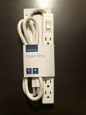 New listing Insignia 6 Outlet Power Strip - White