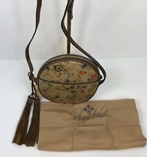 New ListingPatrica Nash Scafati Antique Rose Leather Canteen Crossbody Handbag New $139