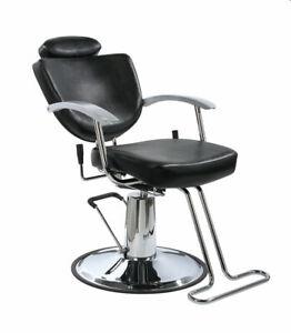 New Black Fashion All Purpose Hydraulic Recline Salon Barber Chair Shampoo 67W