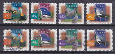 AUSTRALIA 1997 Fauna Birds Adhesive Yv 1596 to 1599a Used very fine