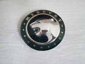 NOS 1996 1997 Ford Mercury Cougar Grille Ornament Emblem Badge Logo - Green
