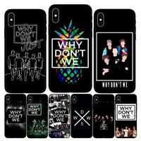 Fashion American boy band Why dont we case for iPhone 6s Plus 7 8 Plus X XS Max