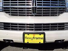 A NASA-like Rubber License Plate Bracket Frame Holder Guard Bumper for LINCOLN