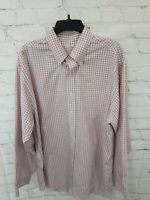 Brooks Brothers Mens Large Button Down All Cotton Shirt Pocket Plaid NICE Fall