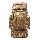 80L Tactical Backpack Army Assault DayPack Hiking Trekking Camping Bug Out Bag
