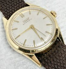 Serviced Presumed Gold Top 17j Swiss Tissot Automatic Watch