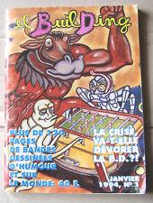 """journal revue sur la BD """"El building"""" n° 1 de janvier 1994 bon état - Très Rare"""