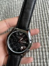 Emporio Armani Ceramica Chronograph Mens Quartz Watch With Date AR-1400