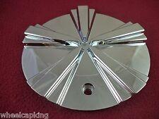Limited Wheels Chrome Custom Wheel Center Caps # C321-1 (SET OF 1)