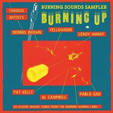 BURNING UP - BURNING SOUNDS SAMPLER - DENNIS BROWN, YELLOWMAN U,A,  CD NEUF