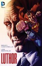 DC Comics Luthor by Brain Azzarello 2015 Paperback New